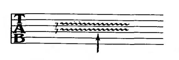 обозначение вибрато в нотах