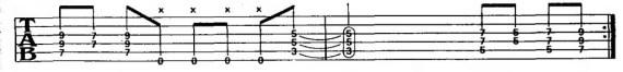аккордовая форма для одного пальца