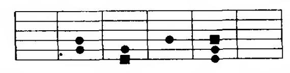 схема мажорной гаммы