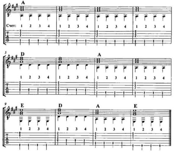 используя другие аккорды