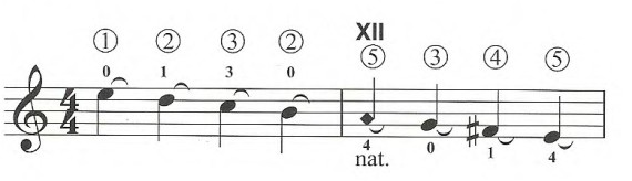 Кампанелла - расширенный прием игры на классической гитаре