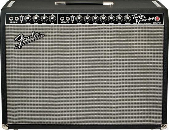 Гитарный комбоусилитель Fender Twin Reverb