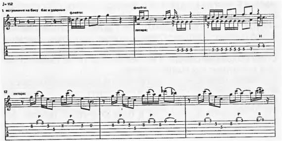 Табы и ноты, уроги гитары Скофилда