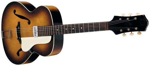 первая гитара Пола Макартни