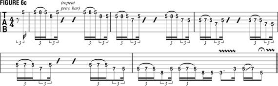 гитара Гари Мура, фирменные трюки