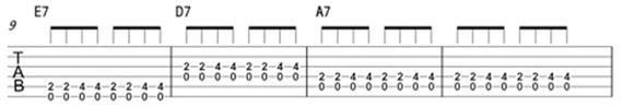 уроки ритма на гитаре в блюзе