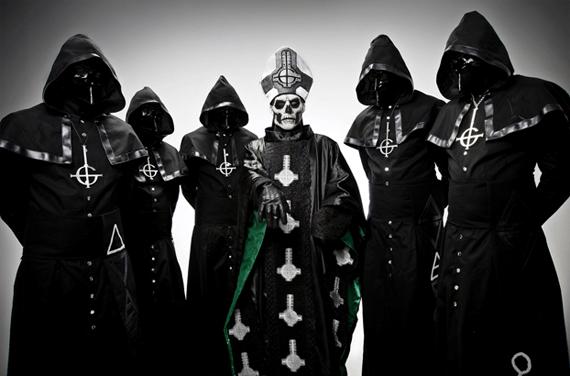 костюмы группы Ghost BC