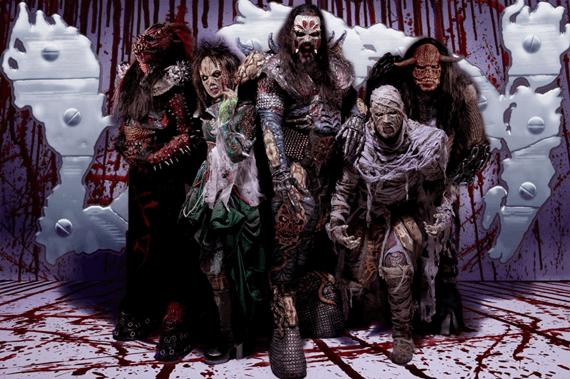 Костюмы группы Lordi