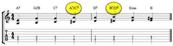 исправляем некоторые аккорды