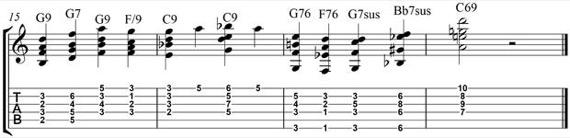 джазовое упражнение