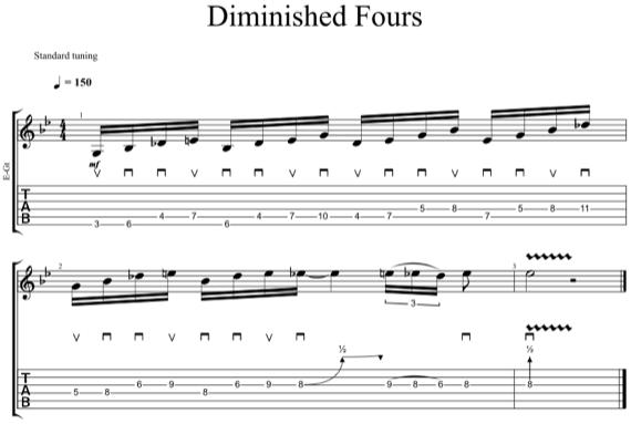 Быстро сыграть пентатонику шестнадцатыми нотами