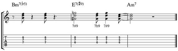 """Джазовый """"хендриксовский"""" аккорд"""