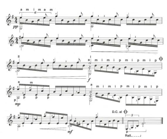Переборы для акустической гитары
