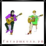 Женская и мужская посадки гитаристов