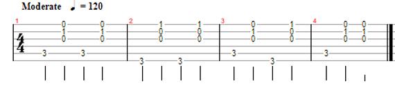 Как играть на гитаре двумя пальцами