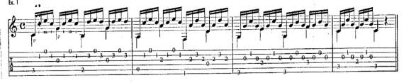 Как играть тремя пальцами на гитаре