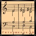 Гармонизация минорной гаммы