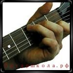 Гармонизация мажорной гаммы и разрешение мажорных аккордов на гитаре