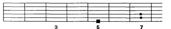 квинтовый аккорд А