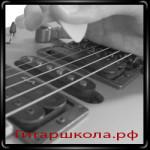 Глушение струн при игре на слайд гитаре