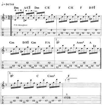 Стив Морс уроки арпеджио на электрогитаре