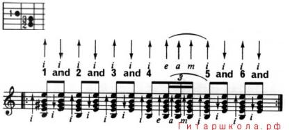 четырёхзвучное расгеадо