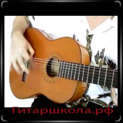 Компас при игре на гитаре фламенко