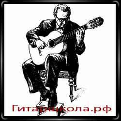 Правильное положение классической гитары