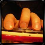 Технический прием на гитаре - натуральный флажолет