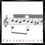 Тридцать вторые и шестьдесят четвертые ноты для классической гитары