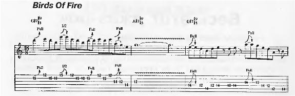 Гитарные фразы Маклафлина