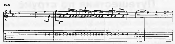 Пэт Метини - уроки гитары