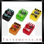 Новая серия гитарных педалей Vox Tone Garage