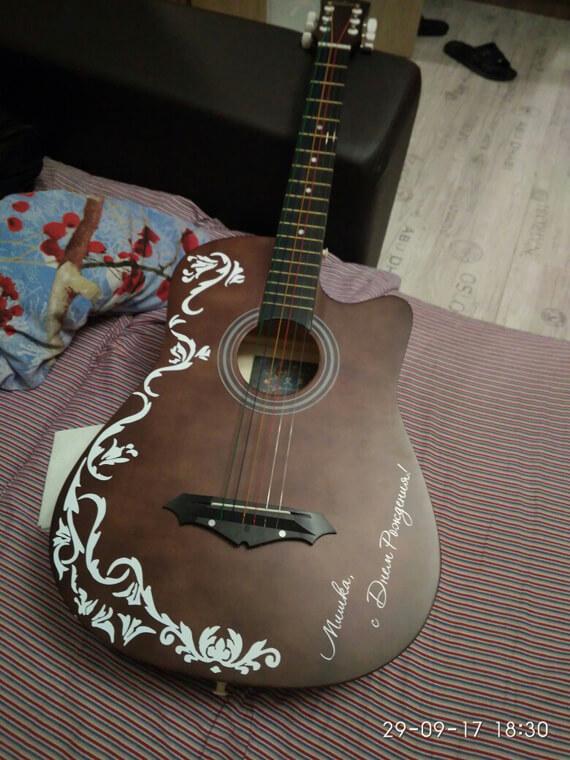 Подарить гитаристу наклейки для гитары