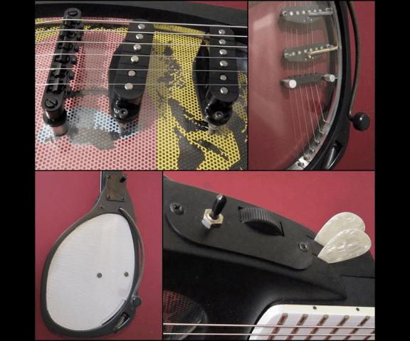гитара в форме солнцезащитных очков