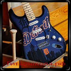 Fender выпустила гитары бейсбольной тематики