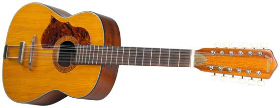 Джон Леннон владел этой гитарой