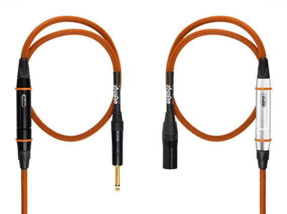 Инструментальный гитарный кабель Orange Twister