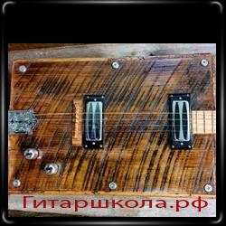 Гитара из доски от сарая
