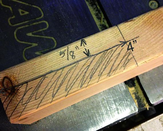 Изготовление головы грифа для лэп гитары