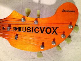 Голова грифа гитары Musicvox Spaceranger