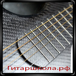 Гитара Alpaca из карбона
