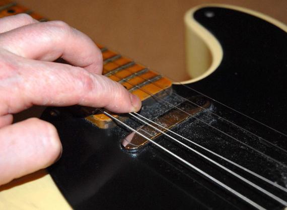 анкер на гитарах fender