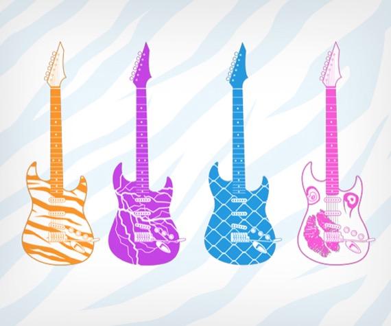 гитара глэм-металлиста