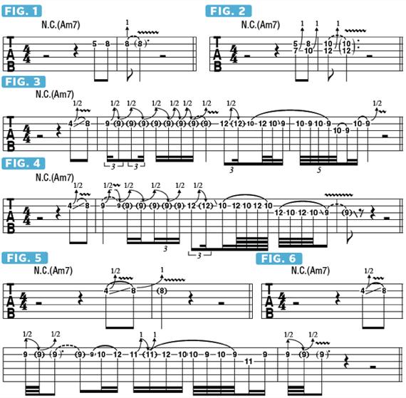 Как использовать бенды и вибрато на электрогитаре
