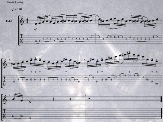 Блюзовая фраза в тяжелой музыке