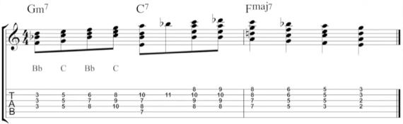 Гармонии под джазовые соло