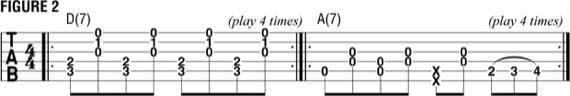 Использование 2 аккордов
