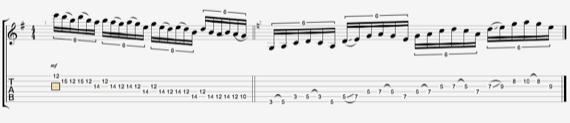 Фразы для электрогитары от Джими Пейджа