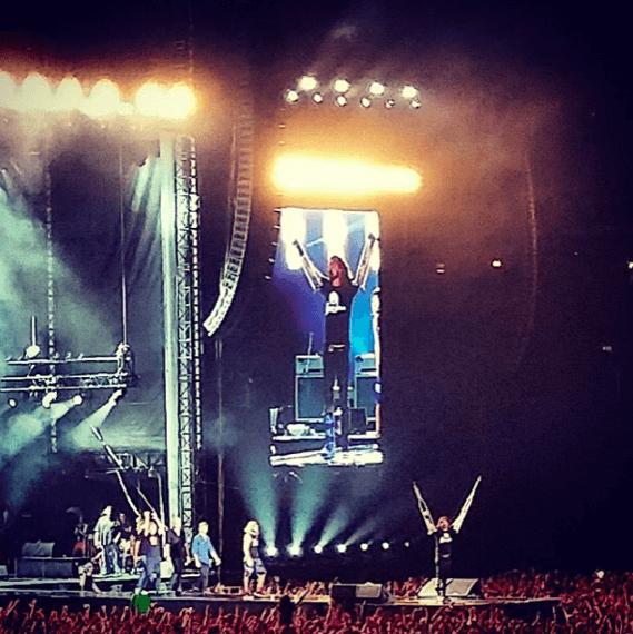 Концерт Foo Fighters